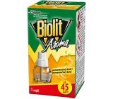 Biolit Aróma Elektrický odparovač s vôňou pomaranča proti komárom 45 nocí náhradná náplň 27 ml