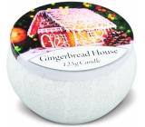 Heart & Home Perníková chalúpka Sójová vonná sviečka v plechovke horí až 30 hodín 125 g
