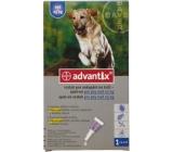 Bayer Advantix Spot On roztok na kvapkanie na kožu pre psov nad 25 kg, 1 x 4 ml