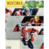 Nekupto Baliaci papier vianočné pre deti Avengers 70 x 200 cm 1 role BLI 048