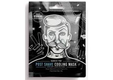 Barber Pre Pleťová maska textilné po holení pre mužov 30 g