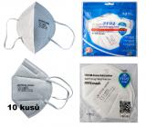 JB Respirátor ústnej ochranný 5-vrstvový FFP2 Mask CE 1463 10 kusov