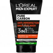 Loreal Paris Men Expert Pure Carbon Anti-imperfection 3v1 čistiaci pleťový gél 100 ml