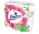 Linteo Care & Comfort toaletný papier biely 2 vrstvový 4 kusy