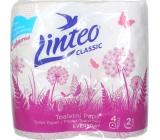 Linteo Classic toaletní papír růžový 2 vrstvý 200 útržků 4 kusy