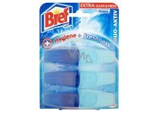 Bref Duo Aktiv Extra Clean & Fresh Oceán Wc gel náhradní náplň 3 x 60 ml