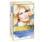 Loreal Paris Excellence Pure Blonde barva na vlasy 04 Blond ultra světlá šampaň
