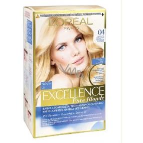Loreal Paris Excellence Pure Blonde farba na vlasy 04 Blond ultra svetlá šampaň
