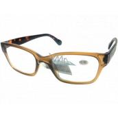 Berkeley Čítacie dioptrické okuliare +1,5 plast svetlo hnedé, tigrované stranice 1 kus ER4198