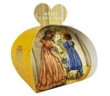 English Soap Victorian Christmas - Viktoriánskej Vianoce prírodné parfumované toaletné mydlo s bambuckým maslom 3 x 20 g
