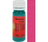 Art e Miss Barva na světlý i tmavý textil 51 metalická růžová 12 g