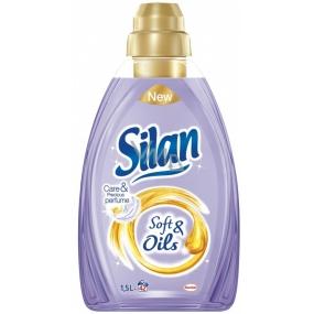 Silan Soft & Oils Care & Precious Perfume Oils Purple aviváž koncentrát 42 dávok 1,5 l