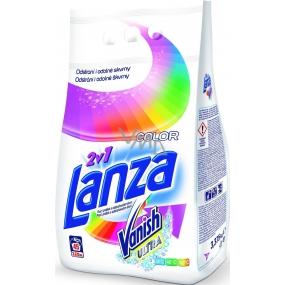 Lanza Vanish Ultra 2v1 Color prací prášok s odstraňovačom škvŕn na farebnú bielizeň 15 dávok 1,125 g