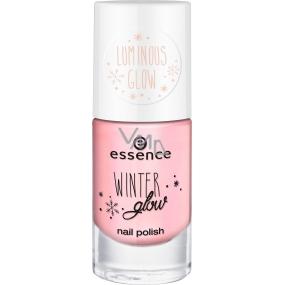 Essence Winter Glow Nail Polish lak na nechty 04 Let It Glow 8 ml