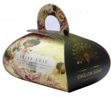 English Soap Šípková ruža prírodné parfumované mydlo s bambuckým maslom 260 g