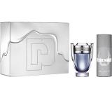 Paco Rabanne Invictus toaletní voda pro muže 100 ml + deodorant sprej 150 ml, dárková sada 2017