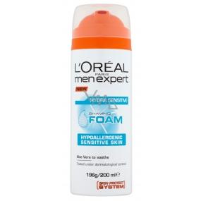Loreal Paris Men Expert Hydra Sensitive hypoalergenní pěna na holení pro citlivou pleť 200 ml