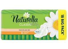 Naturella Classic Normal hygienické vložky s heřmánkem 18 kusů