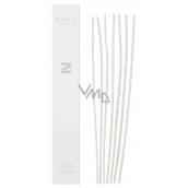 Millefiori Milano Aria Zona náhradné prírodné Ratanová steblá 7 kusov v délcel 30 cm pre difuzér 250 ml
