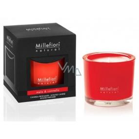 Millefiori Milano Natural Mela & Cannella - Jablko a škorica Vonná sviečka horí až 60 hodín 180 g