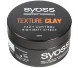 Syoss Texture Clay zmatňující stylingová hlína na vlasy 100 ml