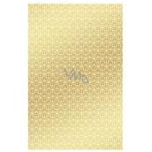 Ditipo Baliaci papier zlatý s bielymi ornamentmi 100 x 70 mm 2 kusy