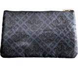 Diva & Nice Kozmetická kabelka saténová s barokovým vzorom 16 x 27 cm
