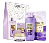 Loreal Paris Hyaluron Specialist denný krém 50 ml + micelárna voda 200 ml + textilný pleťová maska 30 g, kozmetická sada