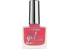Deborah Gel Effect Nail Enamel gelový lak na nehty 32 Coral 11 ml