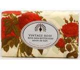 English Soap Rozkvetlá Růže Přírodní parfémované mýdlo s bambuckým máslem 200g