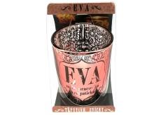 Albi Třpytivý svícen ze skla na čajovou svíčku EVA, 7 cm