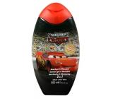 Disney Cars McQueen sprchový gel a šampon na vlasy pro děti 300 ml