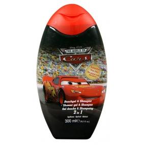 Disney Cars McQueen sprchový gél a šampón na vlasy pre deti 300 ml