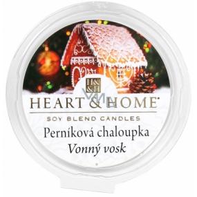 Heart & Home Perníková chalúpka Sójový prírodný voňavý vosk 27 g