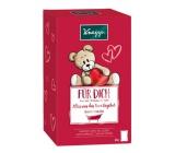 Kneipp Milujem ťa soľ 60 g + Veľa šťastia soľ 60 g + Všetko bude v poriadku soľ 60 g + Krásny spánok soľ 60 g, kozmetická súprava pre deti