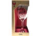 Albi Môj Bar Pohár na víno 1991 220 ml