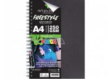Artgecko skicár Freestyle A4 30 listov 250 g