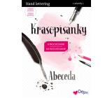 Ditipo Krasopísanky 3 Moderné krasopis Hand lettering abeceda na precvičovanie 32 strán 7234001