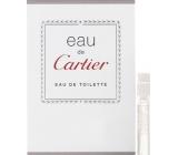 Cartier Eau de Cartier toaletní voda unisex 1,5 ml s rozprašovačem, Vialka