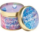 Bomb Cosmetics Hriešny tanec - Passion Fruit Fandango Candle Vonná prírodné, ručne vyrobená sviečka v plechovej dóze horí až 35 hodín