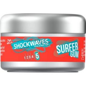 Wella Shockwaves Surfer Gum stylingová guma na vlasy 75 ml