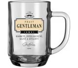 Nekupto Liga Pravých Džentlmenov Pivné poháre Pravý Gentleman- osobitý, inteligentný, silný a štýlový 14,5 x 13 x 10 cm