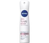 Nivea Deo Beauty Elixir Deomilk Sensitive antiperspirant dezodorant sprej pre ženy 150 ml
