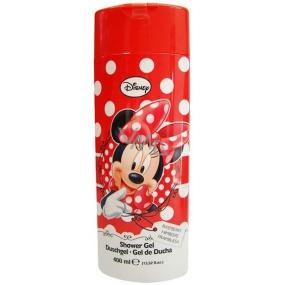 Disney Minnie Mouse vůně malin sprchový gel pro děti 400 ml