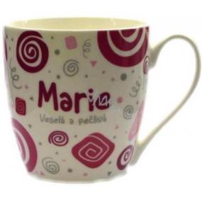 Nekupto Twister hrnek se jménem Marie růžový 0,4 litru