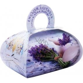English Soap Anglická Levanduľa prírodné parfumované toaletné mydlo s bambuckým maslom 260 g