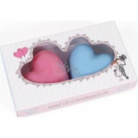 Albi Svadba Mydlá svadobné v tvare srdca 130 g