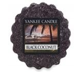 Yankee Candle Black Coconut - Čierny kokos vonný vosk do aromalampy 22 g