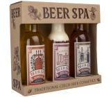 Bohemia Gifts Beer Spa Premium s extraktmi z pivných kvasníc a chmeľu sprchový gél 200 ml + šampón na vlasy 200 ml + kúpeľová pena 200 ml, kozmetická sada