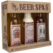 Bohemia Beer Spa Premium s extrakty z pivních kvasnic a chmele sprchový gel 200 ml + šampon na vlasy 200 ml + koupelová pěna 200 ml, kosmetická sada